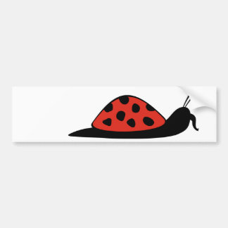 Ladysnailophant Bumper Sticker
