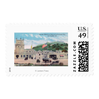 Laemmle Boulevard View of Universal City Postage Stamps