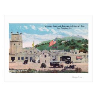 Laemmle Boulevard View of Universal City Postcards