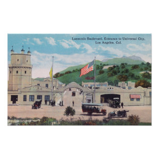 Laemmle Boulevard View of Universal City Poster