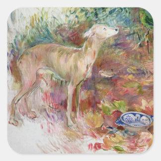Laerte the Greyhound, 1894 Square Sticker