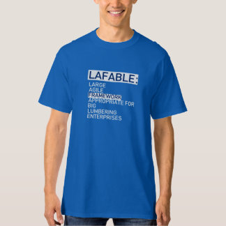 LAFABLE Agile Framework T Shirt
