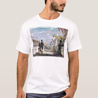 Lafayette and the National Guard by Ken Riley T-Shirt
