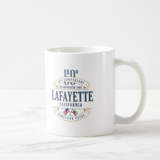 Lafayette, California 50th Anniversary Mug
