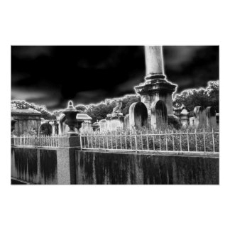 Lafayette Cemetery, New Orleans Poster