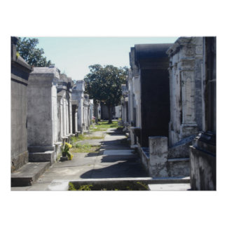 Lafayette Cemetery Poster