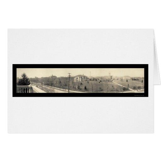 Lafayette EN la foto 1910 de Purdue Tarjeta De Felicitación