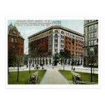 Lafayette Hotel, Buffalo, NY 1909 Vintage Post Cards