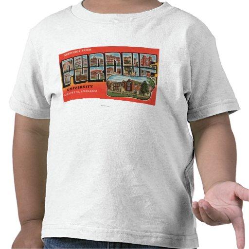 Lafayette, Indiana - universidad de Purdue Camisetas