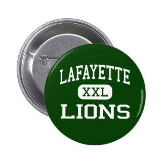 Lafayette - leones - alta - Lafayette Luisiana Pin