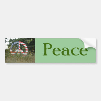 Lafayette Peace Sign Bumper Sticker