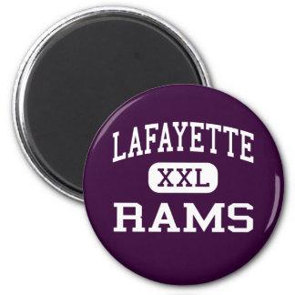 Lafayette - Rams - High - Williamsburg Virginia Fridge Magnet