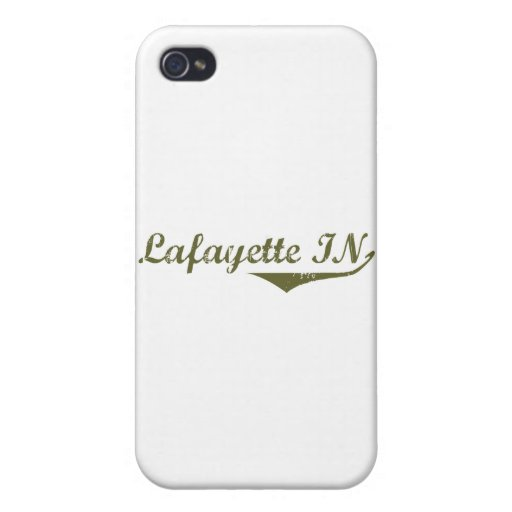 Lafayette  Revolution t shirts Cover For iPhone 4
