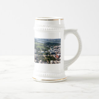 Lafayette Square Aerial Photograph Beer Stein