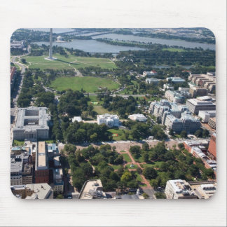 Lafayette Square Aerial Photograph Mouse Pad