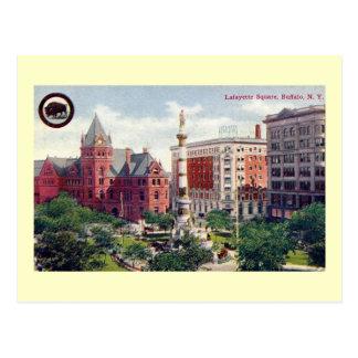 Lafayette Square, Buffalo Vintage Postcard