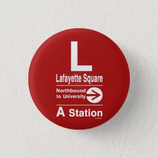 Lafayette Square Northbound Button