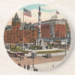 Lafayette Square Vintage Buffalo Coaster