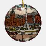Lafayette Square Vintage Buffalo Ornament