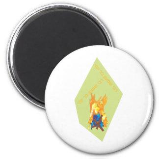Lag bOmer bondfire Magnet