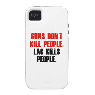 Lag Kills People iPhone 4 Cover
