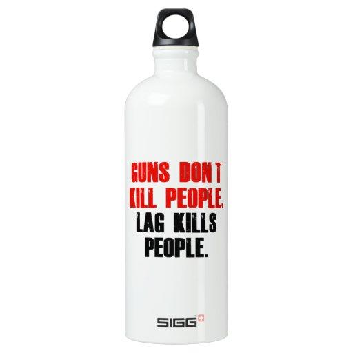 Lag Kills People SIGG Traveler 1.0L Water Bottle