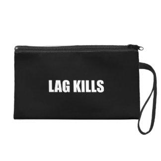 Lag Kills Wristlet Purse