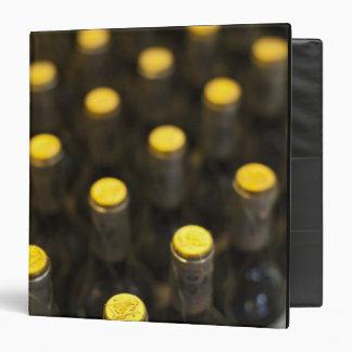 """Lagar de Bodega Marques de Riscal, botellas de vin Carpeta 1 1/2"""""""