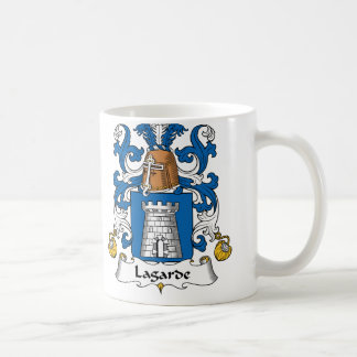 Lagarde Family Crest Coffee Mug