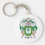 Lagarra Family Crest Key Chain