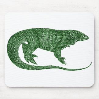 Lagarto abigarrado Mousepad