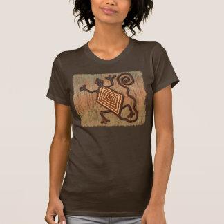 Lagarto antiguo camiseta