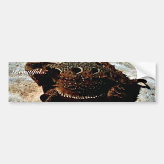 lagarto Cortocircuito-de cuernos Pegatina Para Auto