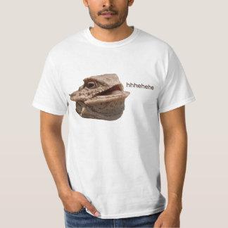 Lagarto de risa de la iguana HeHe Poleras