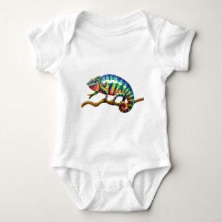 Lagarto del camaleón de la pantera body para bebé