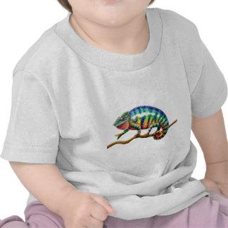 Lagarto del camaleón de la pantera camisetas
