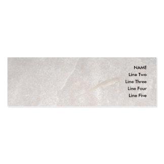 Lagarto en piedra tarjetas de visita