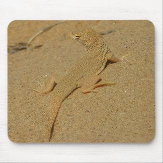 Lagarto Franja-Tocado con la punta del pie Mojave  Tapete De Ratones
