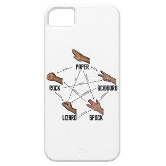 Lagarto-Spock iPhone 5 Carcasa