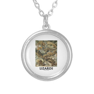 Lagartos Ernesto Haeckel Artforms de la naturaleza Colgante Redondo