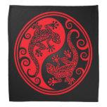 Lagartos rojos y negros de Yin Yang