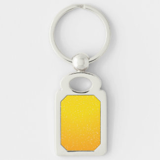 Lager Beer with Tiny Bubbles Background Art Key Chain