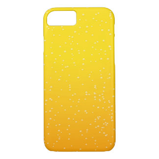 Lager Beer with Tiny Bubbles iPhone 7 Case