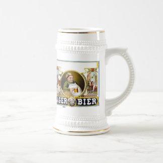 Lager Bier 18 Oz Beer Stein
