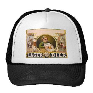 Lager Bier - The Healthy Drink! Vintage Ad Trucker Hat