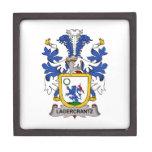 Lagercrantz Family Crest Premium Jewelry Box