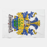 Lagerfelt Family Crest Hand Towels