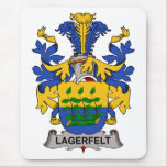 Lagerfelt Family Crest Mouse Pad