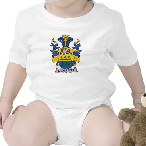Lagerfelt Family Crest Shirts