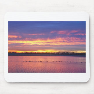 Lagerman Reservoir Sunrise Mousepads